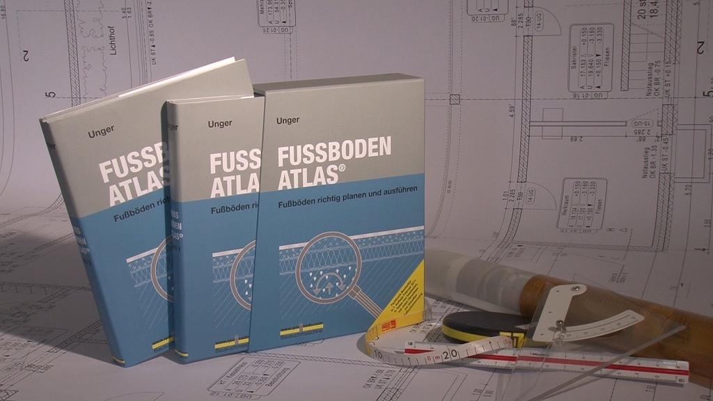 Unser Fachbuch FUSSBODEN ATLAS
